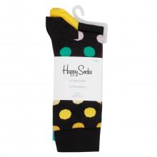 Happy Socks 2021 Big Dot Novelty Cotton Comfort Regular Fit 2 Pack Mens Socks