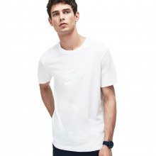 Lacoste Mens Oversized Crocodile Jersey T-Shirt