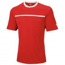 Wilson Tennis Mens Team Crew T Shirt