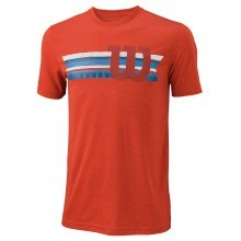 Wilson Mens Stripe W Tech T Shirt