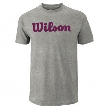 Wilson Sport Mens Script Cotton T Shirt