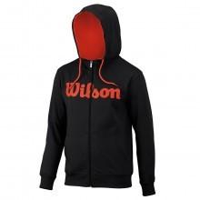 Wilson Mens Script Cotton Full Zip Hoody