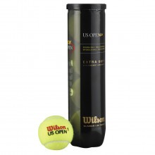 Wilson US Open XD Tennis Balls Extra Duty - 4 Ball Can - Multi Pack Options